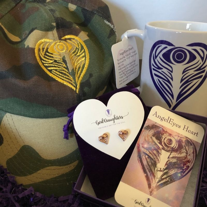 Protect your Peace Holiday Gift set bundle by Goddaughters Wearable Art for the Soul