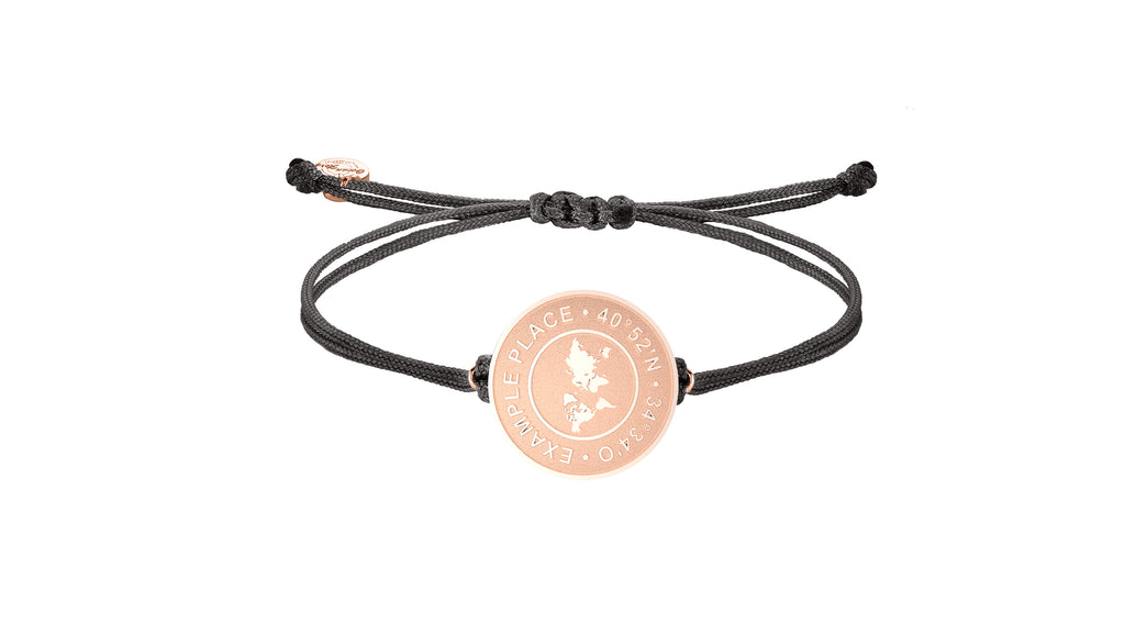 Personalisiertes Armband Roségold