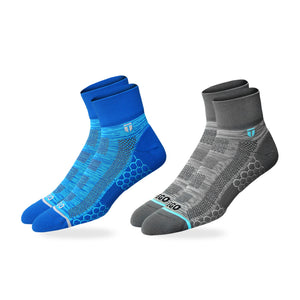 Quarter Ultralight - Heather Blue BLU-2Pcs