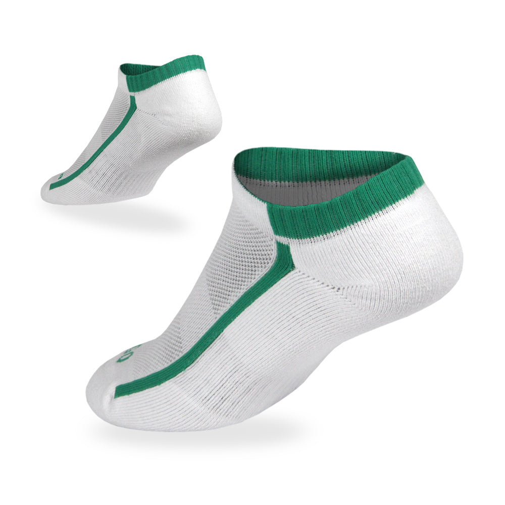No Show Cotton - White GRN-1Pair