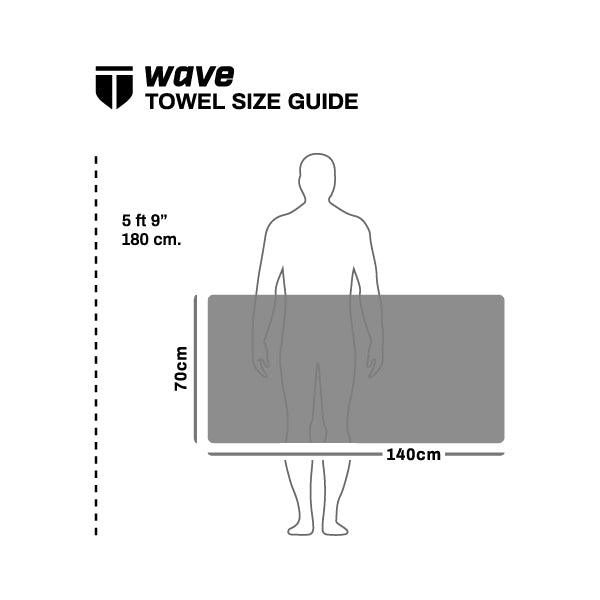 WAVE Full Body Towel - VAPArise Cotton