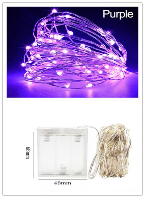 Natal Led Garland Wine Bottle Light Copper Wire Fairy Lights Christmas Easyleads Store2