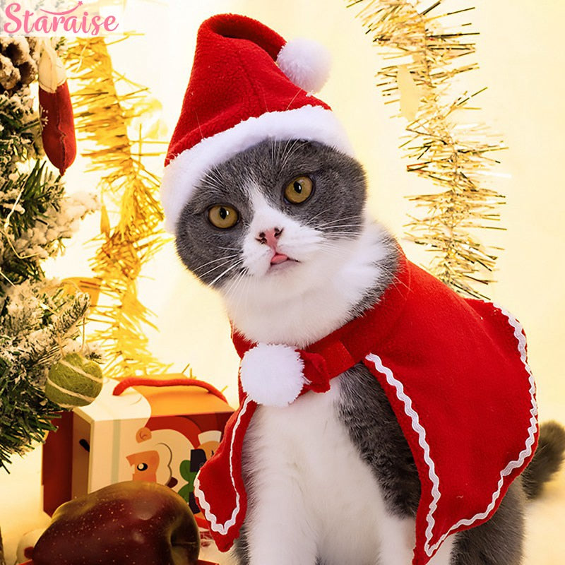 Cats Dogs Christmas Pet Clothes Merry Christmas Decorations For Home N Easyleads Store2