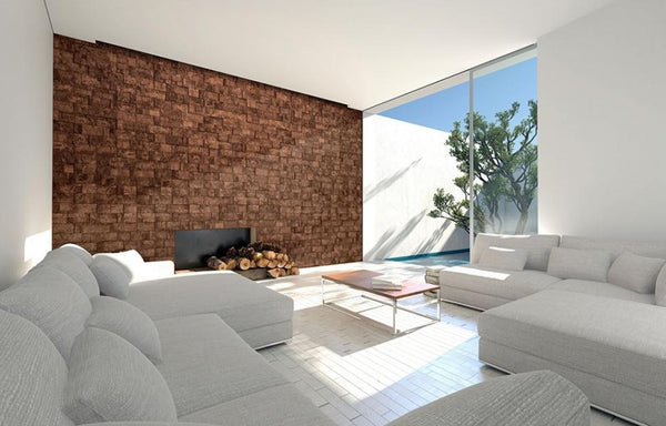 MURATTO CORK WALL DESIGN - CORK WALL DESIGN - CORK BRICKS - 3D