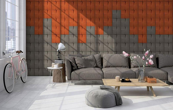 MURATTO CORK WALL DESIGN - ORGANIC BLOCKS - CHOCK