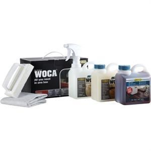 WOCA Maintenance Kit for Natural Oiled Floors