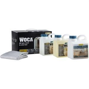 WOCA Maintenance Kit for Laminated & Lacquered Floors