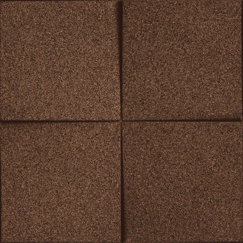 MURATTO CORK WALL DESIGN - ORGANIC BLOCKS - CHOCK - BLACK