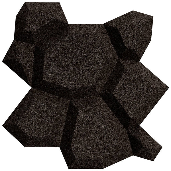 MURATTO CORK WALL DESIGN - ORGANIC BLOCKS - BEEHIVE - BLACK