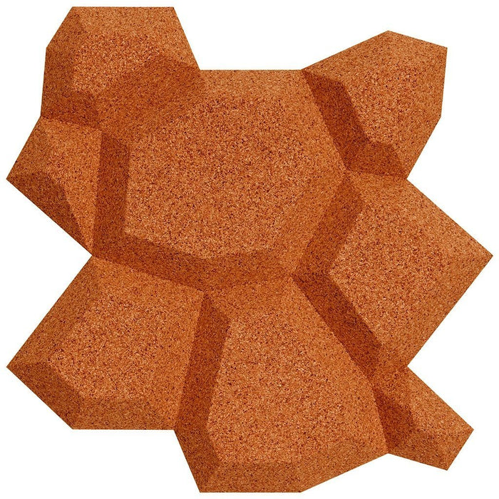 MURATTO CORK WALL DESIGN - ORGANIC BLOCKS - BEEHIVE - COPPER