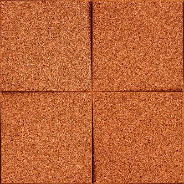 MURATTO CORK WALL DESIGN - ORGANIC BLOCKS - CHOCK - TURQUOISE