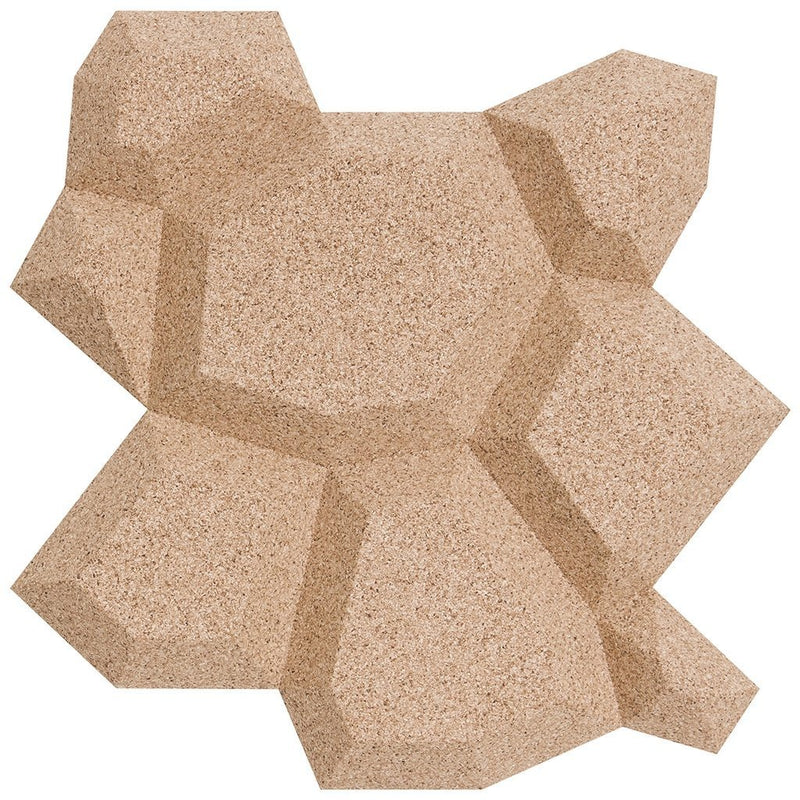 MURATTO CORK WALL DESIGN - ORGANIC BLOCKS - BEEHIVE - IVORY