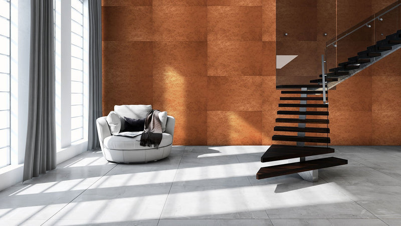 MURATTO CORK WALL DESIGN - METALEGANCE - CLEAR CEMENT