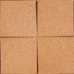MURATTO CORK WALL DESIGN - ORGANIC BLOCKS - CHOCK - NATURAL