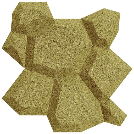 MURATTO CORK WALL DESIGN - ORGANIC BLOCKS - BEEHIVE - YELLOW