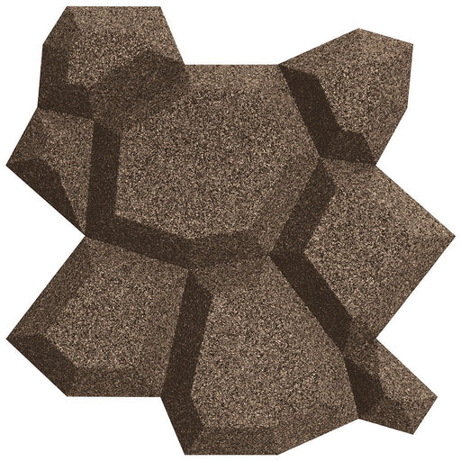 MURATTO CORK WALL DESIGN - ORGANIC BLOCKS - BEEHIVE - TAUPE