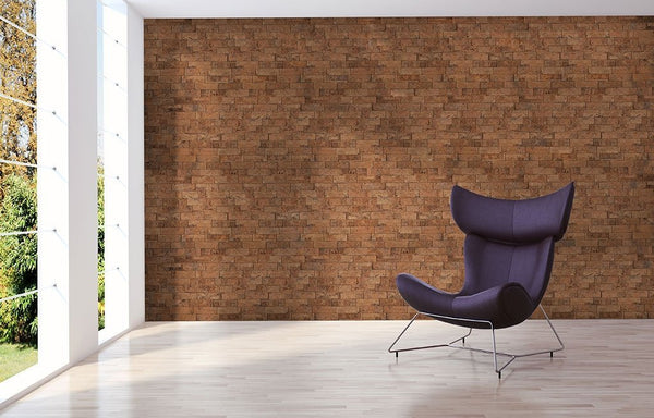MURATTO CORK WALL DESIGN - CORK WALL DESIGN - CORK BRICKS - BEVELLED - IVORY