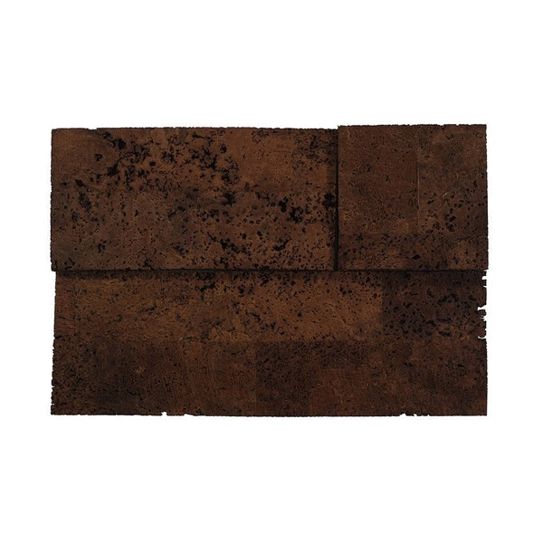 MURATTO CORK WALL DESIGN - CORK WALL DESIGN - CORK BRICKS - 3D - BROWN