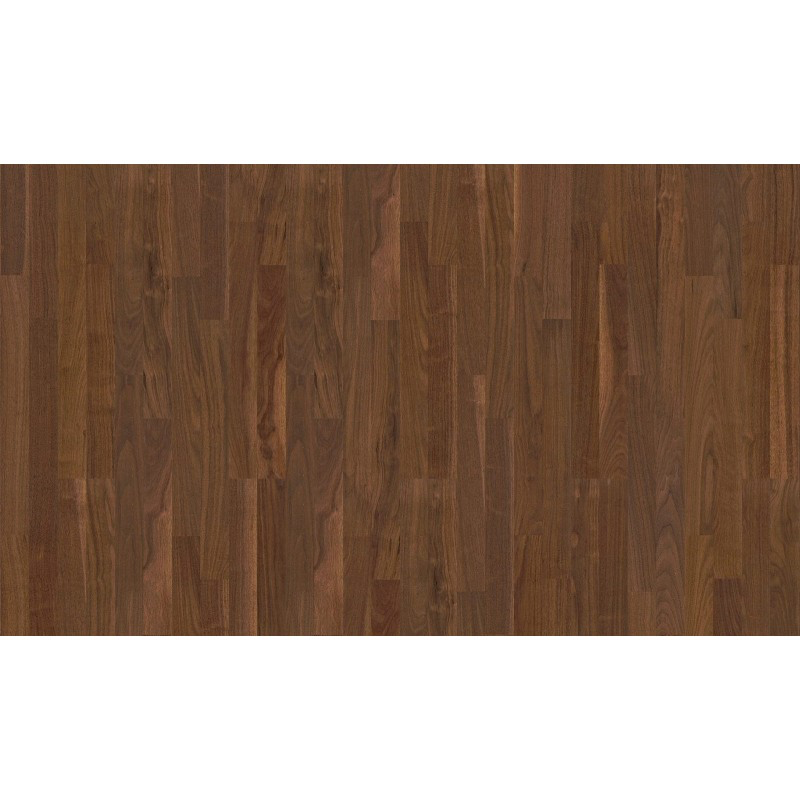 Boen Engineered American Black Walnut 138 x 14/3.5mm - Andante Grade with Micro Bevel - Satin Lacquer Finish