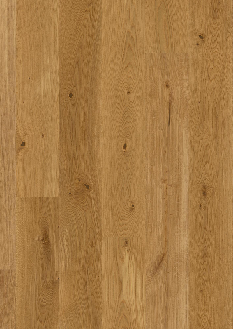 Boen Engineered European Oak 209 x 14/3.5mm - Animoso Grade with Micro Bevel - Natural Oil Finish EIGV4KFD