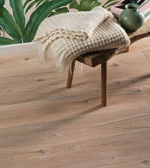 Boen Oak Vintage White 14mm x 209mm Engineered European Oak SOGVZMWD