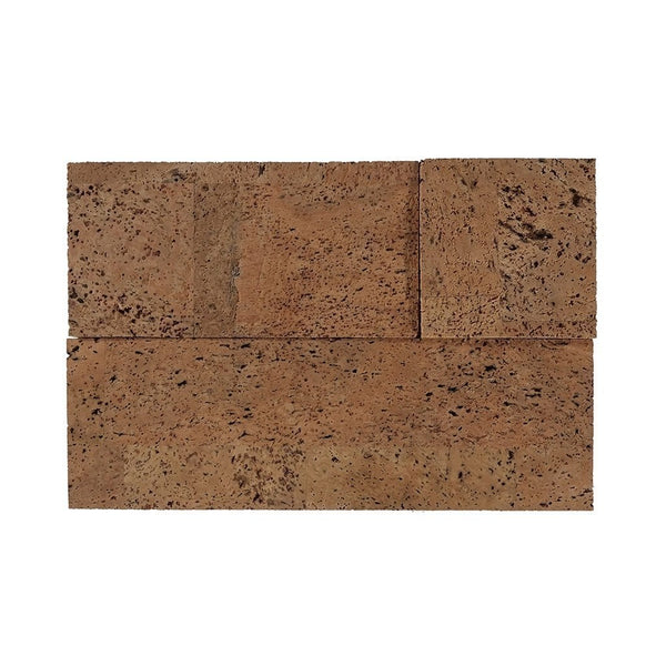 MURATTO CORK WALL DESIGN - CORK WALL DESIGN - CORK BRICKS - 3D - NATURAL