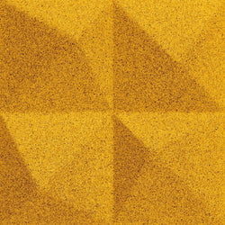 MURATTO CORK WALL DESIGN - ORGANIC BLOCKS - PEAK - YELLOW