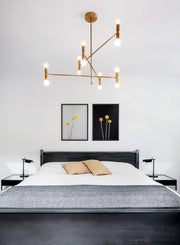 Scandinavian poster by Opposite Wall with minimalist photo of Billy Buttons - Bedroom