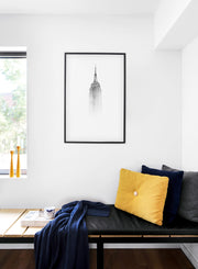Scandinavian poster by Opposite Wall with black and white Icon photo art print - Cozy living nook