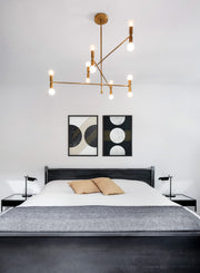 Minimalist poster by Opposite Wall with graphical and abstract Telescopic design - Bedroom