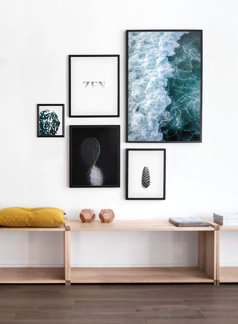 Scandinavian poster by Opposite Wall with Zen typography graphic design - Wall gallery
