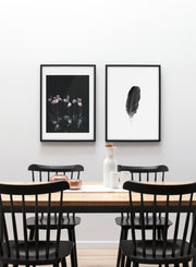 Modern minimalist poster by Opposite Wall with Flamingos - Gallery Wall Duo - Dining room