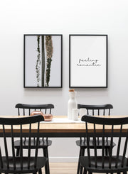 Country Road modern minimalist photography poster by Opposite Wall - Dining room - Duo