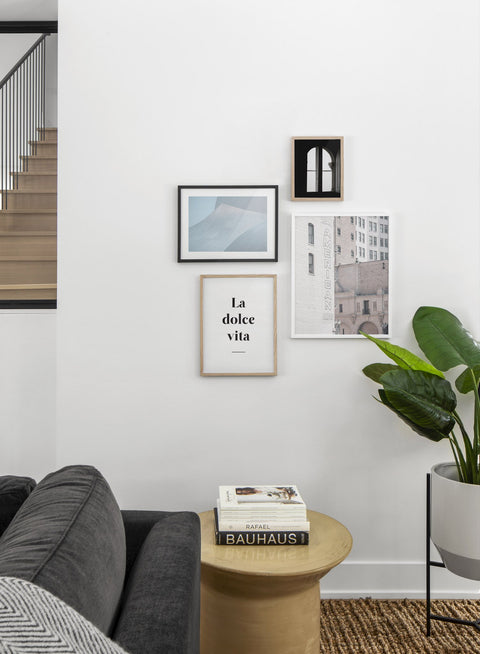 American Lofts modern minimalist photography poster by Opposite Wall - Living room