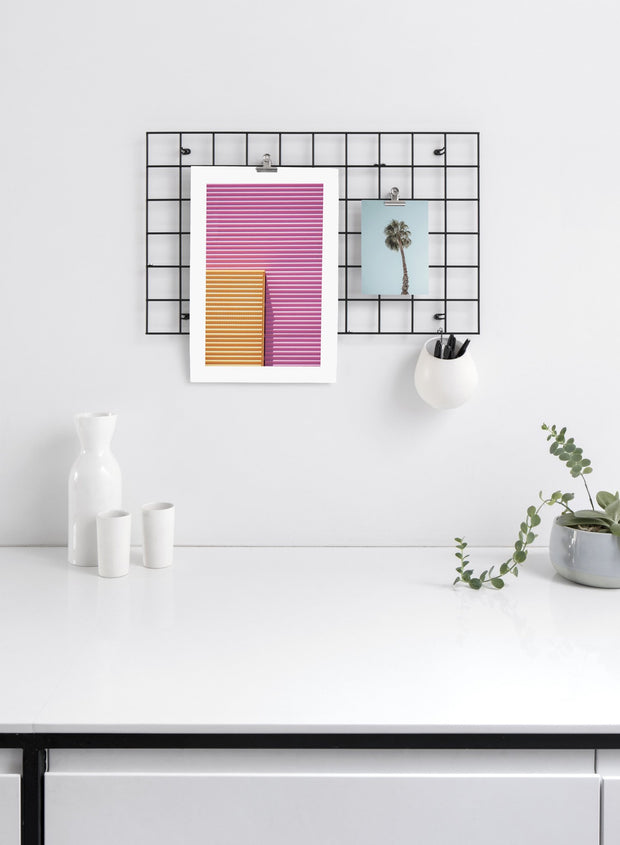 Ready for Summer modern minimalist photography poster by Opposite Wall - Kitchen - Duo