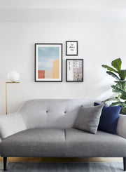 Perfect Trio modern minimalist photography poster by Opposite Wall - Living room - Trio