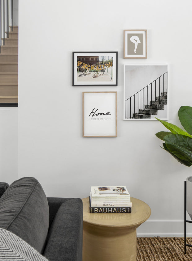 Wilensky modern minimalist photography poster by Opposite Wall - Living room