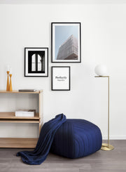Hornstein Pavilion For Peace modern minimalist photography poster by Opposite Wall - Living room