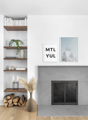 Bonaventure Legacy modern minimalist photography poster by Opposite Wall - Living room