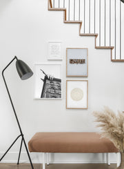 Centre Phi modern minimalist photography poster by Opposite Wall - Entryway