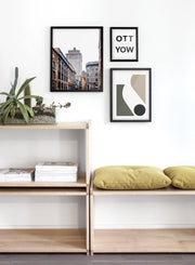 Old Port modern minimalist photography poster by Opposite Wall - Entryway