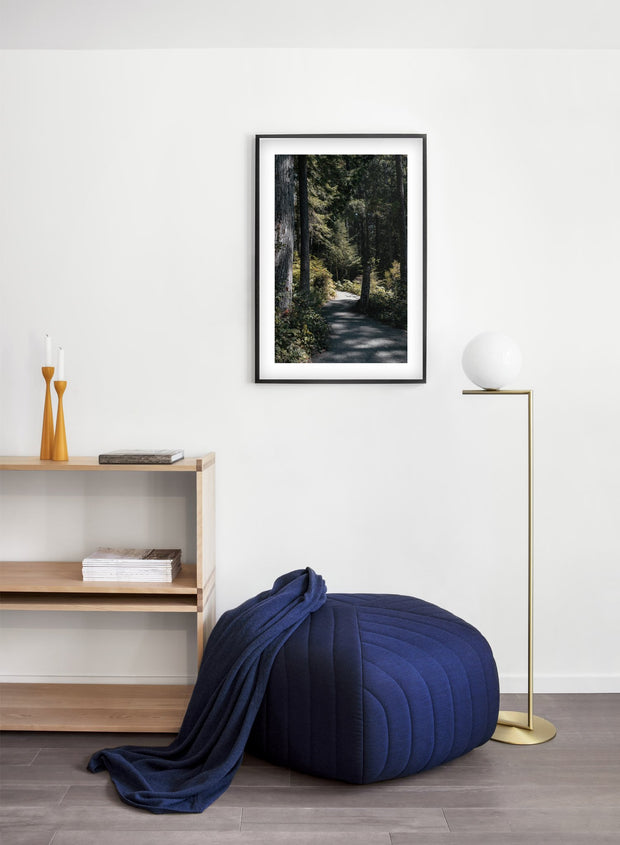 Bright Days modern minimalist nature photography poster by Opposite Wall - Living room