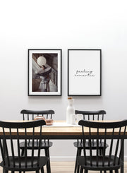 Flamboyance modern minimalist photography poster by Opposite Wall - Dining Room - Duo