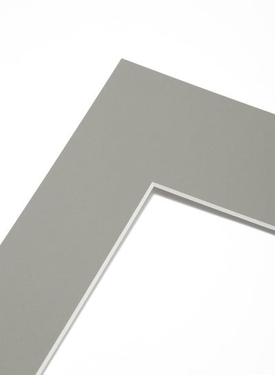Scandinavian grey mat passepartout by Opposite Wall - for frames - made on acid-free FSC paper