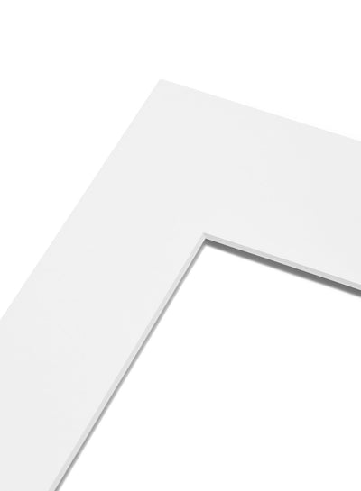 Scandinavian white mat passepartout by Opposite Wall - for frames - made on acid-free FSC paper