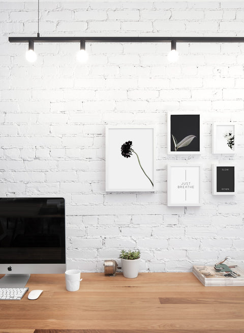 Scandinavian art print by Opposite Wall with trendy design - Personal office