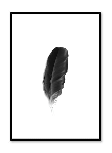 Minimalist art print by Opposite Wall with Fine Feather black and white photography