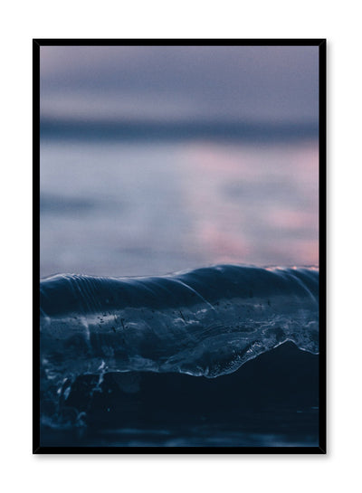 Modern minimalist poster by Opposite Wall with Sunset on the water photography