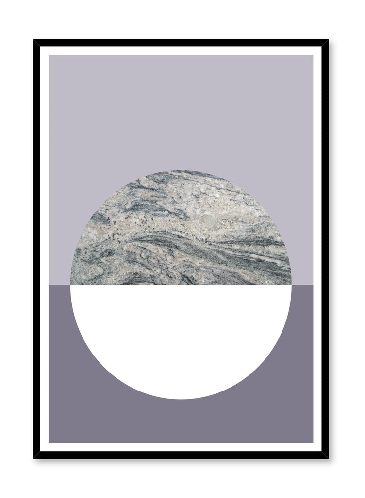 Scandinavian Dusk poster by Opposite Wall with trendy abstract graphic design