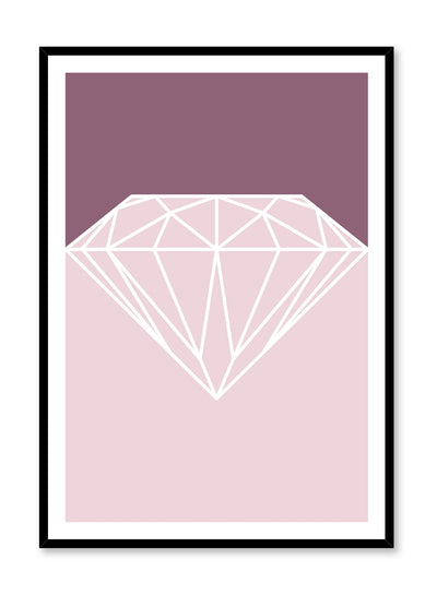 Scandinavian Diamond poster by Opposite Wall with trendy graphic design